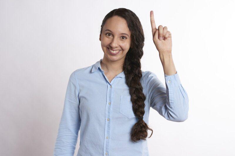Idea Pointing Raise Hand Raise  - RobinHiggins / Pixabay